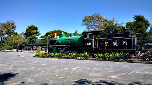Train station in Chaing Mai, Thailand