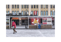 Crossing the Market Square (Pictures from the Ghost Garden) Tags: street winter people urban snow architecture buildings suomi finland landscape nikon turku dslr urbanlandscape 18105mm d7100