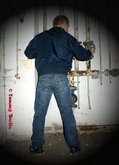 self2944 (Tommy Berlin) Tags: men ass butt jeans alpha ars levis bomberjacke