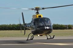 04th July 2010 RAF Waddington Airshow (rob  68) Tags: 04th july 2010 raf waddington airshow aérospatiale as350 bb squirrel ht1 zj274 74 cn 3008 gbxce dhfs shawbury