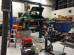 Project #SoftWindowTarga coming along. Fine tuning the engine before it goes in. #Porsche #912 #aircooled #aircooled_world #aircooled_society #vordermanmw #fortwayne #restoration (vordermanmotorwerks) Tags: auto car truck autorepair service van suv fortwayne carrepair vorderman