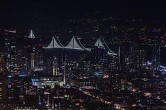 new soma skyline (pbo31) Tags: sanfrancisco california city bridge winter urban motion black color night dark bay nikon view traffic over sfmoma twinpeaks baybridge soma february 80 2016 lightstream boury pbo31 d810