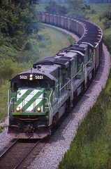 BN 5021, St. Augustine, IL (Cdr. McBragg) Tags: bn coal ge burlingtonnorthern c307