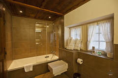 Bathtub and window (A. Wee) Tags: bathroom hotel switzerland bathtub zermatt   schlosshotel