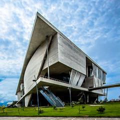 City of Arts (wamcclung) Tags: brazil brasil riodejaneiro architecture modern contemporary angles ramps architect reinforcedconcrete pilotis portzamparc tujuca