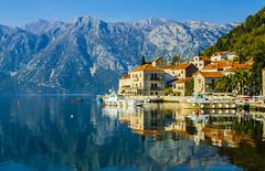 Perast Reflection (Ned_54) Tags: reflection bay montenegro kotor perast