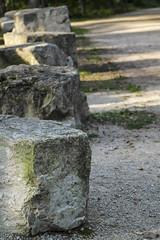 stonehenge (katiepredd) Tags: stone moss rocks gravel