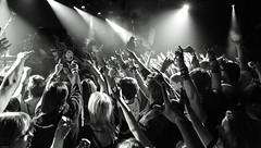 Escape The Fate (Brian Krijgsman) Tags: blackandwhite bw music holland film netherlands monochrome amsterdam rock musicians photography concert nikon europe european tour photos live grain band american zwart wit melkweg thrasher 2016 iso25600 oudezaal d4s escapethefate tjbell robertortiz craigmabbitt kevingruft briankrijgsman kevinthrashergruft rebellionnoise