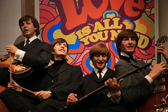 The Beatles (zeity121) Tags: madame music london musicians pop famouspeople beatles celebrities wax johnlennon ringostarr popstars thebeatles tussauds madametussauds paulmccartney georgeharrison popstar waxworks johnpaulgeorgeringo