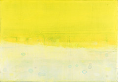 Unknown Place (Kazuhiro HIgashi) Tags: sky white abstract yellow painting landscape air microbe