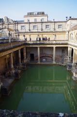 Termas romanas en Bath. IMGP6117 (Rafael Jimnez) Tags: bath bathengland bathinglaterra termas imperioromano