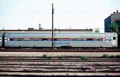 Amtrak 2201 Silver Quail (Chuck Zeiler) Tags: railroad silver amtrak budd quail sleeper chz 2201