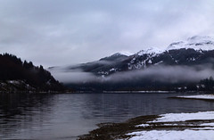 Loch Lubnaig (Graham Cameron Himself) Tags: snow misty scotland alone inlandlake scottishloch