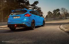 F1 backFocus RS (Mo Lights) Tags: blue ford car racetrack focus european outdoor rs sportswagon formelsport