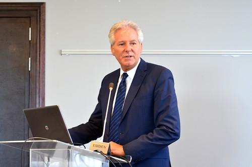 Prof Hubert Gijzen in his opening remarks