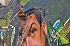 Springtime Delights Festival Graffitis, La Rochelle, Le Gabut (thierry llansades) Tags: wall painting graffiti graf tags spray graff larochelle mur bombing springtime graffitis delights poitou graffs graphisme grafs aerol charentes poitoucharentes