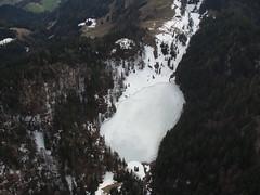 Taubensee in Eis (Roland Henz) Tags: eis luftbild fliegen fhn 2016 segelfliegen taubensee vereist segelflug unterwssen dassu fhnfliegen 03042016