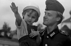 Don't know why we do this (theirhistory) Tags: girl kids children war uniform europe wwii ww2 soldiers germans