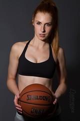 Alex (austinspace) Tags: portrait woman inspiration jock basketball magazine studio march washington model spokane bra nike redhead sweat wtf athlete workout perspiration 2016 alienbees