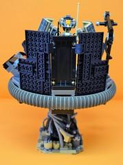 Decibelle_07 (Shadowgear6335) Tags: orange radio robot factory lego good technic hero bionicle mech moc shadowgear6335 bionicle2015
