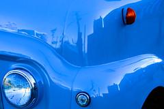 Ice-cream van (stephenbryan825) Tags: blue orange liverpool albertdock icecreamvan