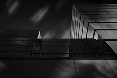 """""""Cubic Illusions"""" Architectural Fantasy #7 (josesuro) Tags: longexposure bw architecture digital florida clearwater 2016 afsnikkor28mmf18g jaspcphotography nikond750"""
