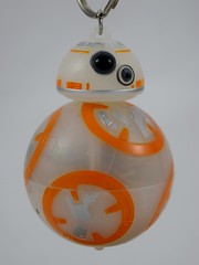 Disneyland Purchases - 2016-03-06 - BB-8 Light-up Keychain - Hanging - Front View (drj1828) Tags: starwars keychain disneyland lightup purchase droid 2016 bb8 theforceawakens