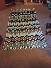 Leah Lehosky (The Crochet Crowd) Tags: game stitch right blanket afghan throw crochetblanket thecrochetcrowd stitchisright