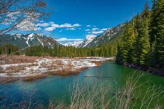 Gold Creek in April