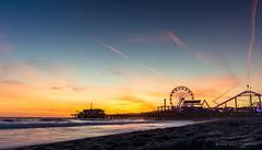 Santa Monica Purr (Adam.Kawasawa) Tags: ocean california sunset sea seascape love beach water landscape pier peace santamonica 420 goldenhour adamkawasawa