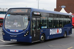 Diamond Wright Streetlite 32309 (SK16 GXM) (Tividale) (john-s-91) Tags: diamond westbromwich 32309 wrightstreetlite sandwellroute4h sk16gxm