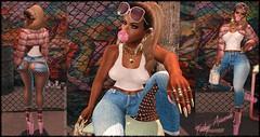 Baby Girl (Indigo Avonside of My Sister's Closet) Tags: indigo iconic nomore infiniti gacha blackwallstreet ryca pinkfuel davidheather gorgeousdolls poseivity glamistry jeyhive