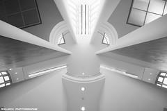 MMK IV (rolleckphotographie) Tags: urban museum architecture blackwhite frankfurt sony ceiling architektur schwarzweiss mmk kunstmuseum nex7 rolleckphotographie stefanrollar
