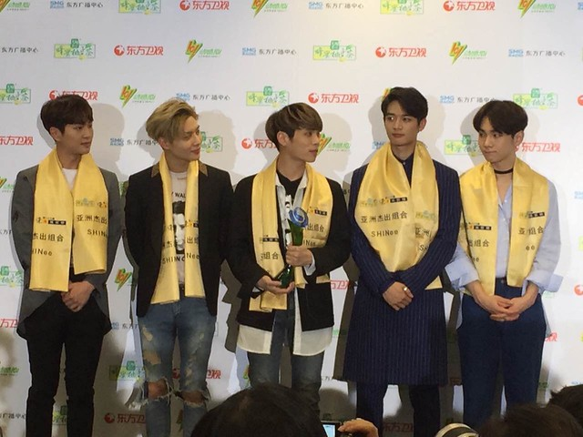160328 ‎SHINee @ '23rd East Billboard Music Awards' 26059340781_b2fae6edf3_z
