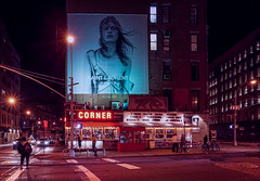 Coming Soon to a Deli Near You (Jeffrey Friedkin) Tags: city nyc newyork night restaurant la neon newyorker billboard taco esquina nolita newyorkphoto newyorkscene