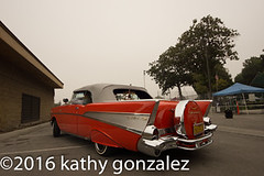 azealia1-4714 (tweaked.pixels) Tags: red orange chevrolet belair convertible 1957 southgate rollin azealiafestival tweedymilegolfcourse