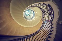 Going Spiral (roken-roliko) Tags: uk travel light england london up stairs spiral looking interior lookingup staircase spiralstaircase hillsdepartmentstore traveldestinations architectureinterior cityandarchitecture rolandshainidze