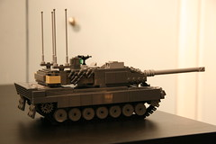 An Alternative View (ABS Defence Systems) Tags: canada tank lego wip can indoors leopard german armor mbt armour afv 2a6