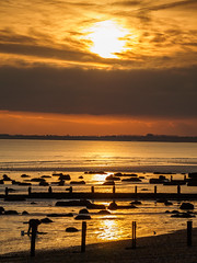 Bognor NovemberPB165930_23 (tony.rummery) Tags: sunset england seascape beach sussex unitedkingdom olympus gb southcoast groyne bognor englishchannel bognorregis breakwater mft microfourthirds epm1