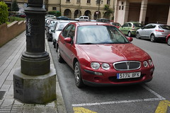 Rover (Jusotil_1943) Tags: coches hierro redcars 290416