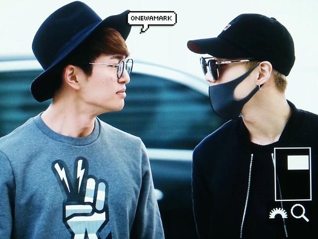 160401 SHINee (Sin Jonghyun) @ Aeropuerto de Incheon {Rumbo a Japón} 26154980441_937864c32c_z