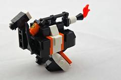 Mk.3x Twank Flamethrower (Deltassius) Tags: mobile robot war tank lego space military walker frame zero mecha mech wanzer twank tweepunk mfz mf0