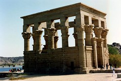 1992 - Upper Egypt - Philae - Trajan's Kiosk (bellrockman2011) Tags: egypt nile temples pyramids aswan trajan antiquities pharaohs cataracts begum agakhan