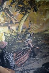 Tapices en la sala Octavio Paz (Casa de Amrica) Tags: madrid espaa frutas sala fontaine comedor 1902 decoracin francs bodegones palaciodelinares latinoamrica casadeamerica casaamerica tapices fbulas iberoamrica casamerica octaviopax