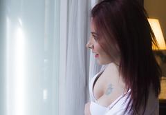 Amanda Witchcraft (elparison) Tags: face breast tits bra lingerie wait downblouse