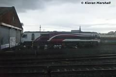 8208 at Connolly, 4/4/16 (hurricanemk1c) Tags: dublin irish train gm rail railway trains enterprise railways irishrail 201 nir generalmotors 2016 emd connolly iarnrd 8208 ireann northernirelandrailways iarnrdireann