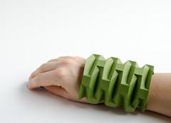 bit of #origami #fashion ;) (_Ekaterina) Tags: green fashion paper origami paperfolding ekaterinalukasheva