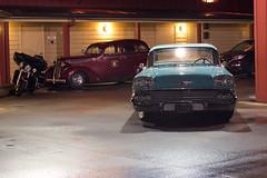 Sprinkler Room (Curtis Gregory Perry) Tags: longexposure chevrolet oregon river hotel pier nikon highway room columbia 101 sprinkler motorcycle astoria 1958 cannery biscayne d800e