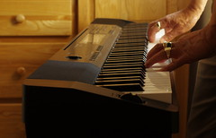 Piano Playing K__32553x (Mike07922, 3 Million+ Views - thanks guys) Tags: keys hands fingers piano casio rings pentaxk3