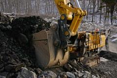 Scoop (thetrick113) Tags: yellow machine equipment heavyequipment loader crush hdr komatsu processor excavator frontendloader shale rockcrusher wheelloader jawcrusher wa380 sonyslta65v pc360 komatsuwa380loader pc360jg 380jg komatsu380jgrockcrusher komatsupc360jgexcavator